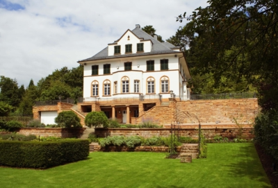 Denkmal geschützte Villa
