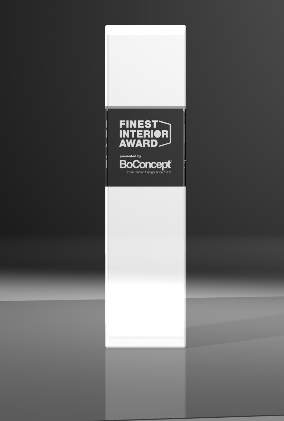 Auszeichnung Finest interior award 2014