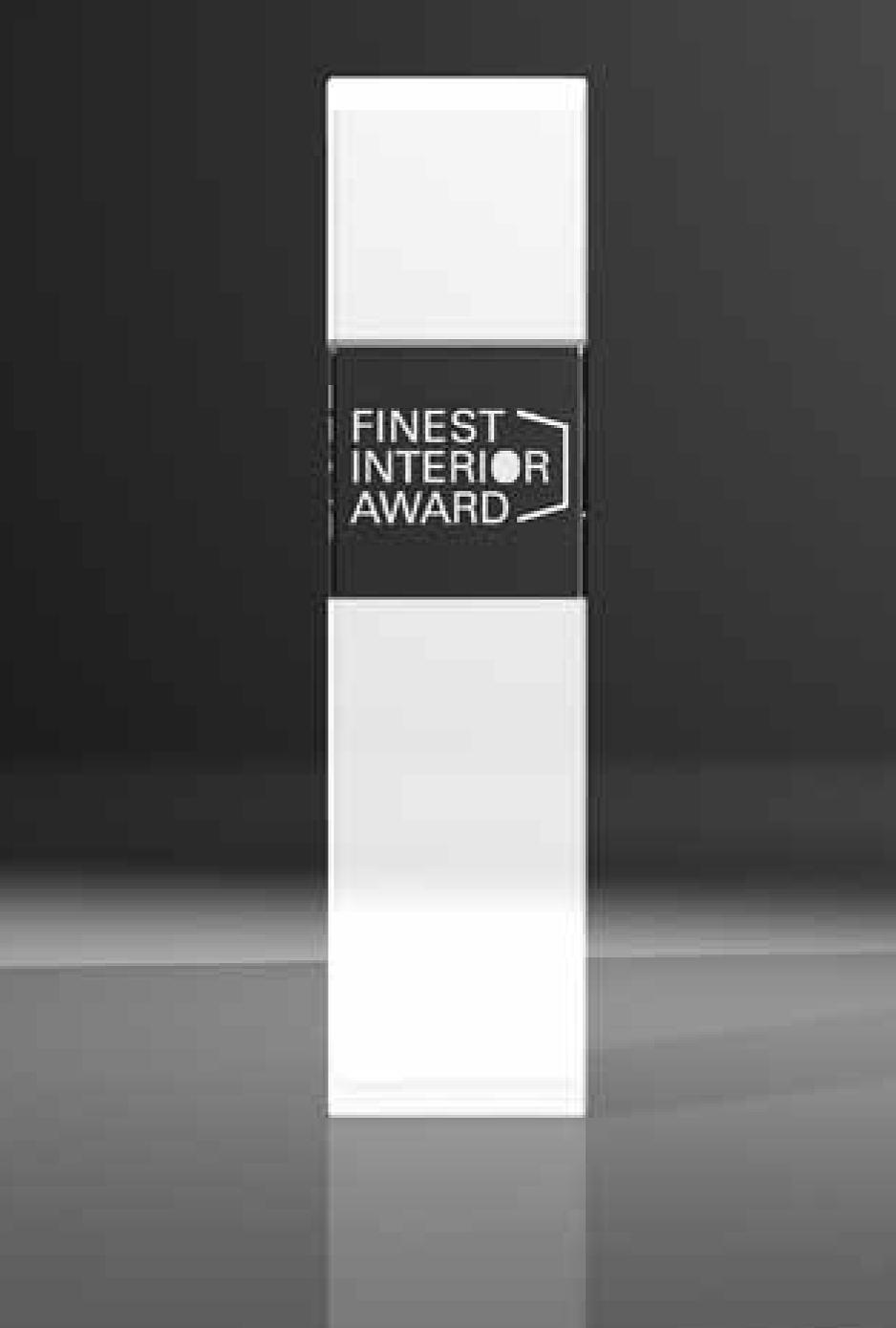 Auszeichnung Finest interior award 2015